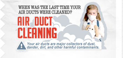 air duct and HVAC system cleaning treatment
